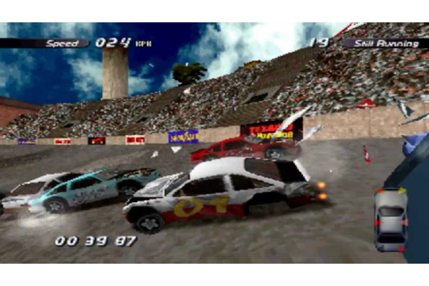 Destruction Derby 2 - Review - PS1 - YouTube
