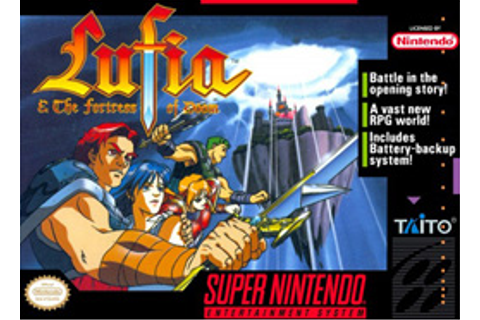 Lufia & the Fortress of Doom - Wikipedia