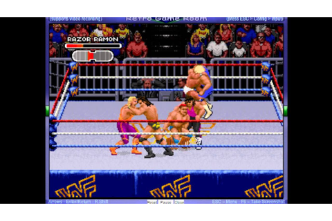 WWF Royal Rumble (SNES) -Royal Rumble Match- Vizzed.com ...