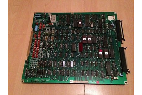 TECMO WORLD CUP 90 Original Jamma Arcade PCB Set - £65.00 ...