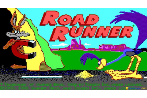 Road Runner gameplay (PC Game, 1987) - YouTube