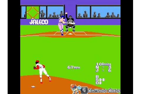 Bases Loaded (NES) Ending - YouTube