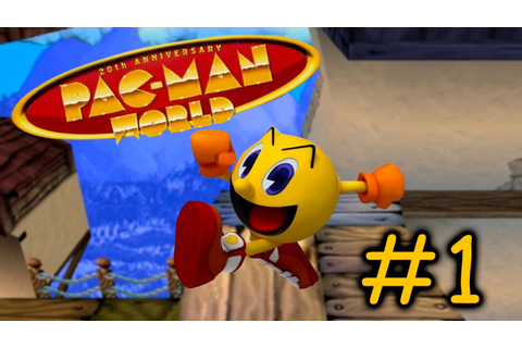 Pac Man World #1 - ESSE GAME É FANTÁSTICO - YouTube