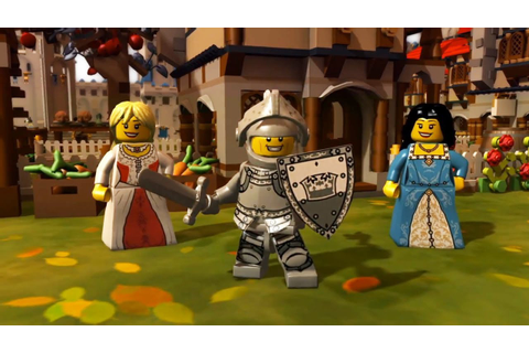 LEGO MiniFigures Online : Medieval World Trailer - YouTube