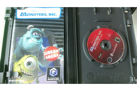Monsters Inc Scream Arena Game Cube - $ 350.00 en Mercado ...