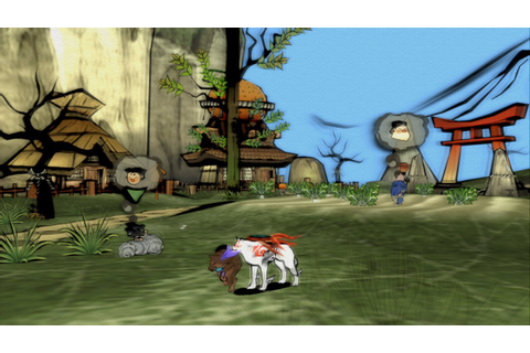 Ōkami HD for PS3 Fiche RPG (reviews, previews, wallpapers ...