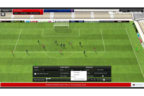 Football Manager 2011 PC Gameplay HD - YouTube