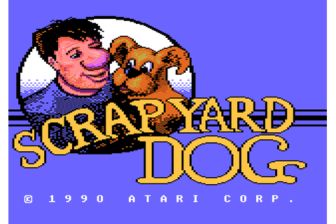 Scrapyard Dog (1990) by Atari Atari 7800 game