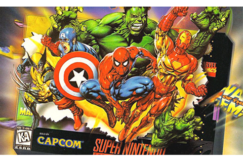 Marvel Super Heroes in War of the Gems Retro Review – Play ...