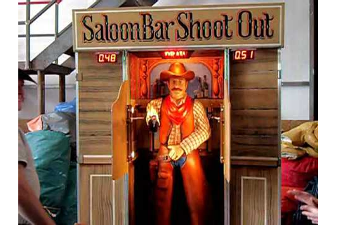saloon shootout quickdraw game - YouTube