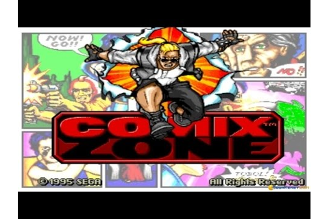 Comix Zone gameplay (PC Game, 1995) - YouTube