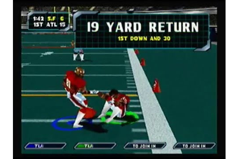 NFL Blitz 2000 Ridiculous Plays - YouTube