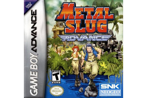 Metal Slug Advance - Nintendo Game Boy Advance (GBA ...