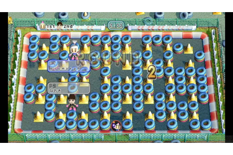 Bomberman Blast Wiiware Online Multiplayer 2 - YouTube