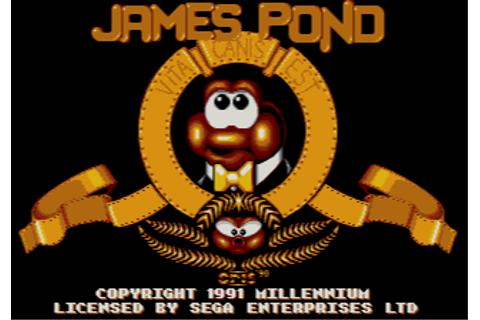 Download James Pond: Underwater Agent (Amiga) - My Abandonware