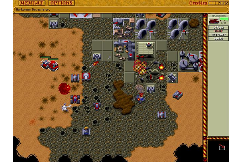 Play Dune2 on Debian Linux with dosbox - Dune 2 Mother of ...