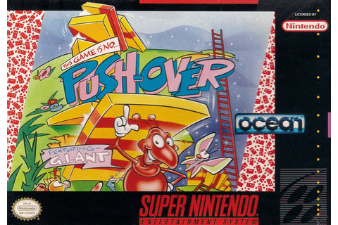 Pushover SNES Super Nintendo