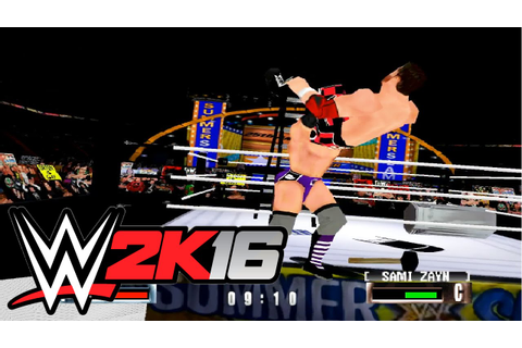 WWF No Mercy 2k16 mod gameplay - YouTube