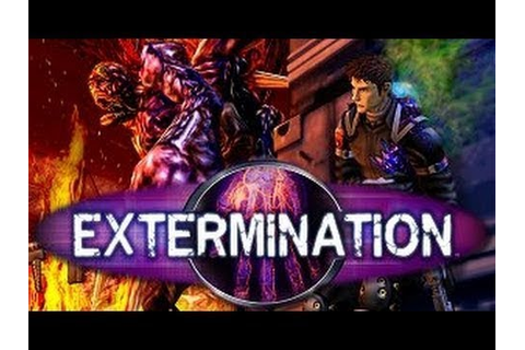 Classic PS2 Game Extermination on PS3 in HD 1080p - YouTube