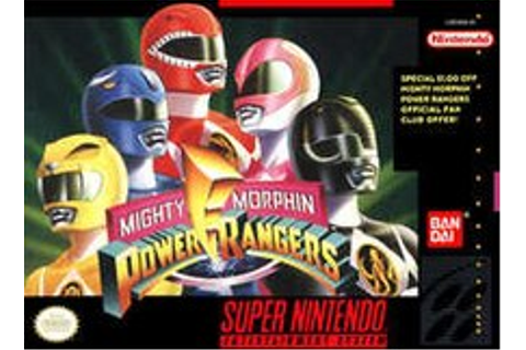 Mighty Morphin Power Rangers (video game) - Wikipedia