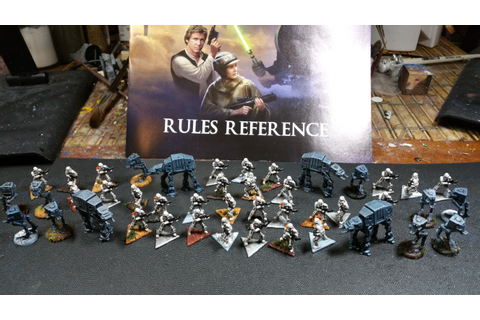 Completed Star Wars: Rebellion miniatures - Star Wars ...