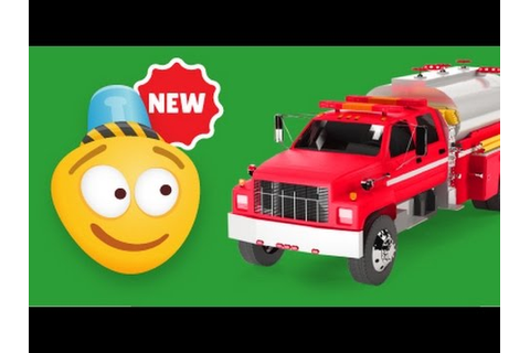 Fire Brigade | Fire Tanker Construction Game | Educational ...