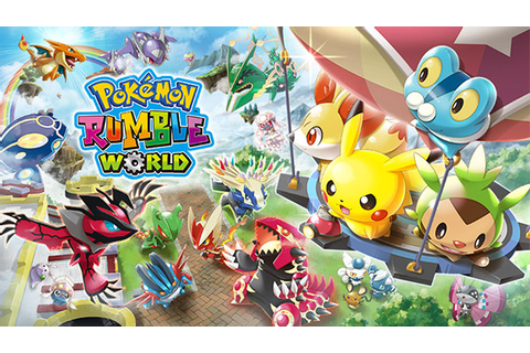 Pokémon Rumble World | Pokémon Video Games