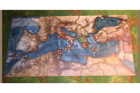 Mare Nostrum: Empires – Giant Map | Board Game Accessory ...