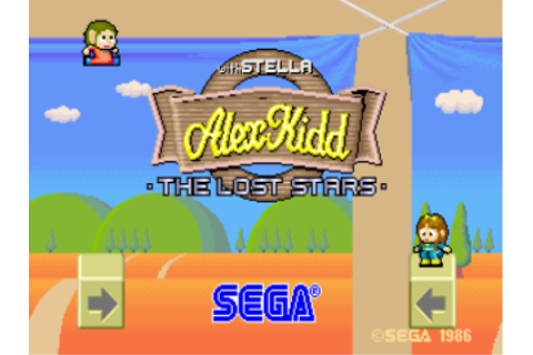 Alex Kidd: The Lost Stars (set 2, unprotected) ROM