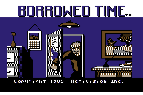 Borrowed Time (1985) by Interplay C64 game