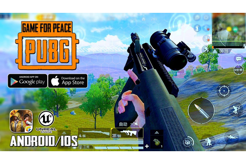 Game For Peace (PUBG Mobile) by Tencent Android/IOS ...