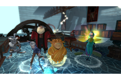 Rise of the Guardians Set to Protect the Holidays on Wii U ...