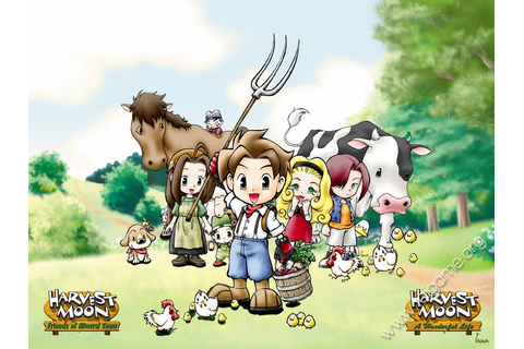 Harvest Moon: A Wonderful Life - Tai game | Download game ...