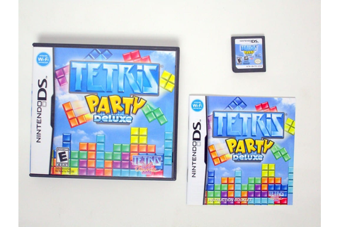 Tetris Party Deluxe game for Nintendo DS | The Game Guy