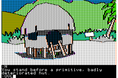 Mindshadow (1984) by Interplay Apple II E game
