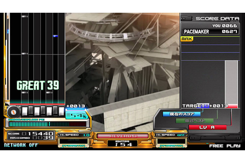 beatmania IIDX 18 Resort Anthem HDD + beatfree - YouTube