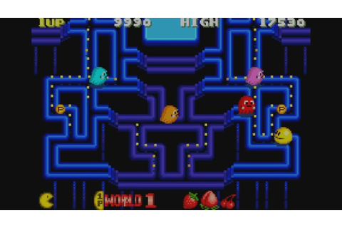 Pac-Man Collection (GBA / Game Boy Advance) Screenshots