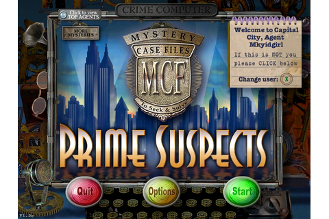 Mystery Case Files Prime Suspects Download Free Full Game ...