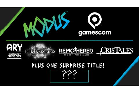Modus Games new game announcement set for Gamescom 2020 ...