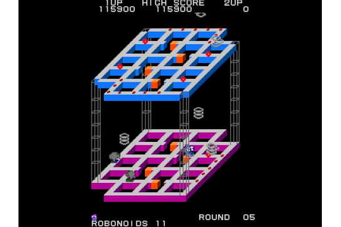 Arcade Game: Marvin's Maze (1983 SNK) - YouTube