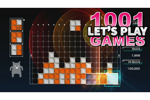 Lumines Live! (Xbox Live) - Let's Play 1001 Games ...