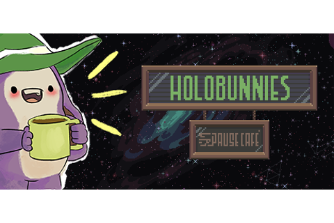 Holobunnies: Pause Café - Three Games in One Cute Package