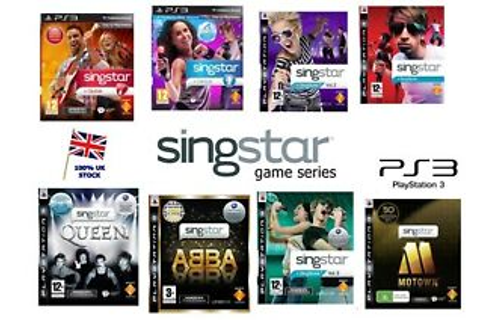 PS3 Singstar Games Series - Region Free - Dance Pop Guitar ...