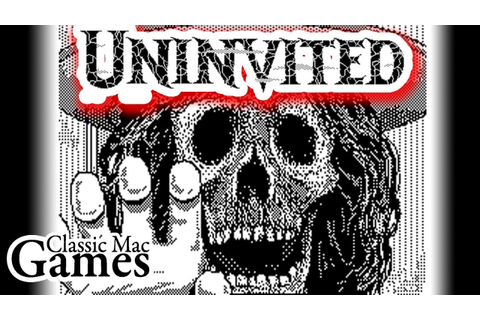 Uninvited for Macintosh WALKTHROUGH - Classic Mac Games ...