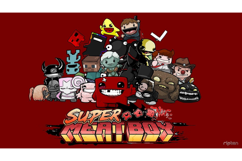 Super Meat Boy-All Characters for PC Gameplay - YouTube