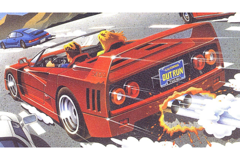 Turbo Outrun Is The Next Sega 3D Classic In Japan, Three ...