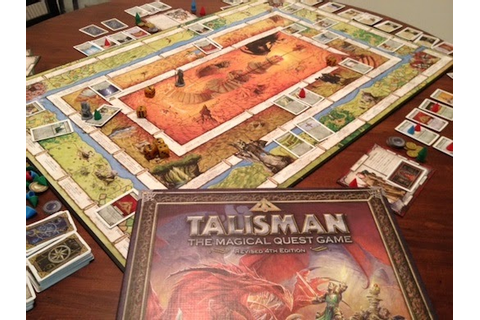Talisman (Revised 4th Edition) Review | Board Game Reviews ...