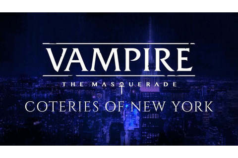 Vampire The Masquerade Coteries of New York Codex Download
