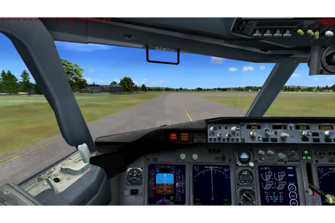 Microsoft Flight Simulator X Gameplay [HD] - YouTube