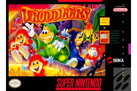 Troddlers SNES Super Nintendo